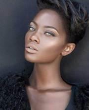 beautiful african american short