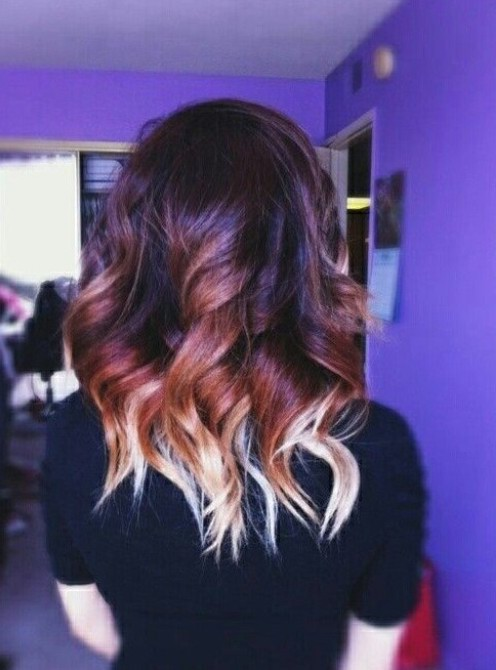 Latest Short Ombre Hair