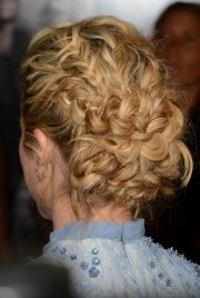 sexy braided updo thick hair
