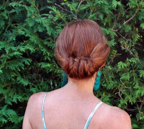 DIY Wedding Hairstyles: The Looped Fishtail