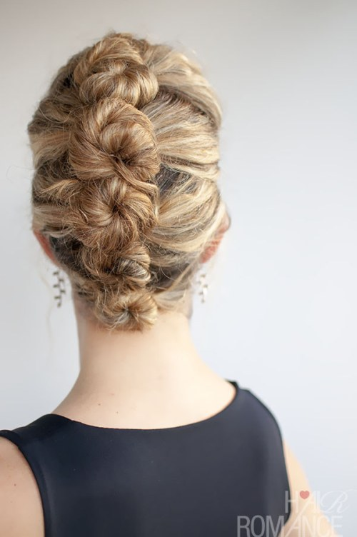 DIY Wedding Hairstyles: The Twist and Pin Updo for Wedding
