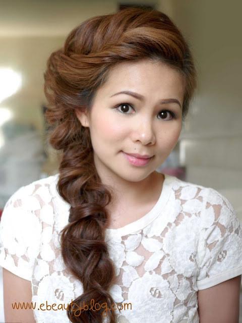 DIY Wedding Hairstyles: The Romantic Fishtail Braid for Asian Women