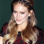 Hilary Duff 1960s Retro Hairstyle for Long Hair
