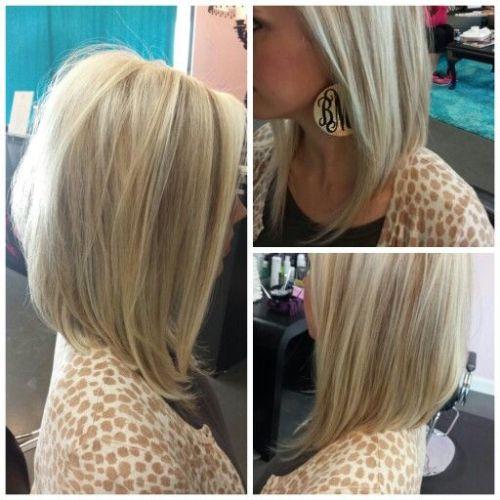 Long Angled Bob Cut for Women - Bob Haircuts for 2015