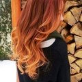 Red to blonde ombre hair for spring hairstyles weekly
