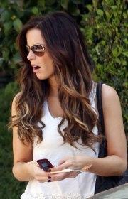 sexy wavy ombre hair long