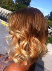 short layered ombre hair - hairstyles