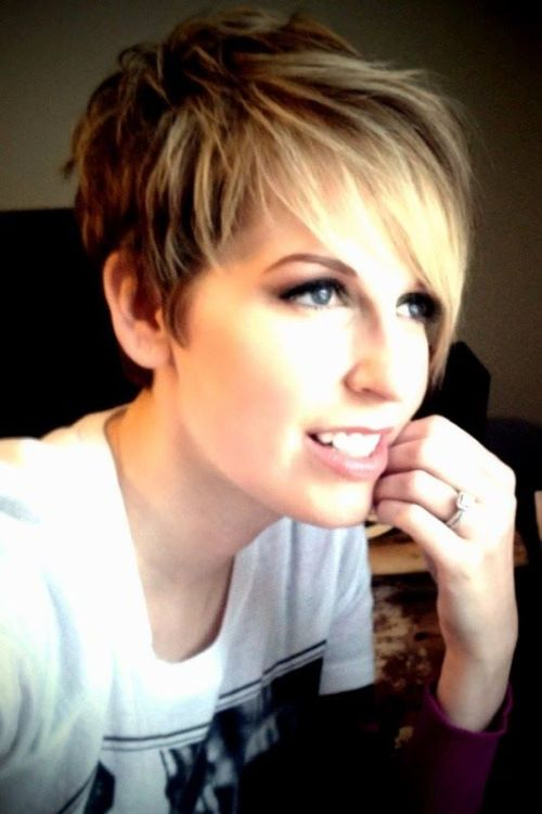 Cute Short Pixie Cut for Women
