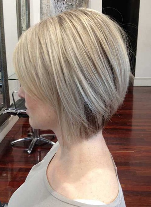 Side View Of Short Bob Hairstyles