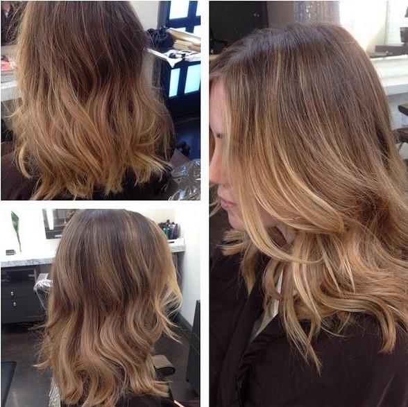 Dark blonde or light brunette