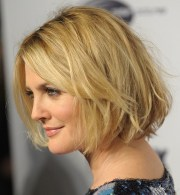 latest hairstyles chic short messy