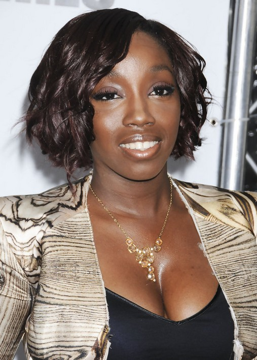Estelle Short Curly Hairstyle for Black Women
