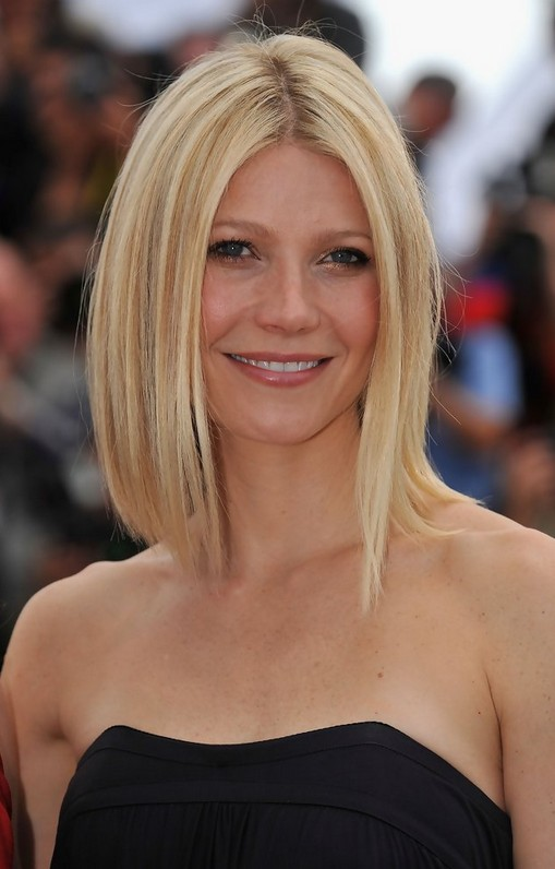 Gwyneth Paltrow Long Bob Hairstyle