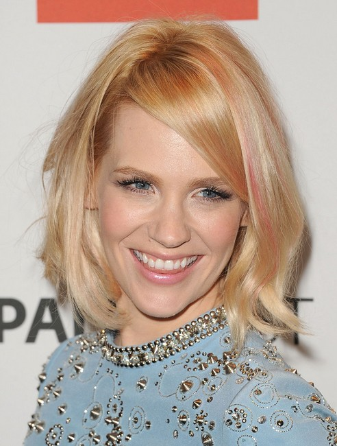 Simple Easy Short Haircut For Women January Jones Bob