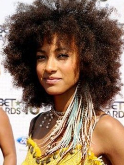 Most Popular Afro Curly Hairstyle for Women
