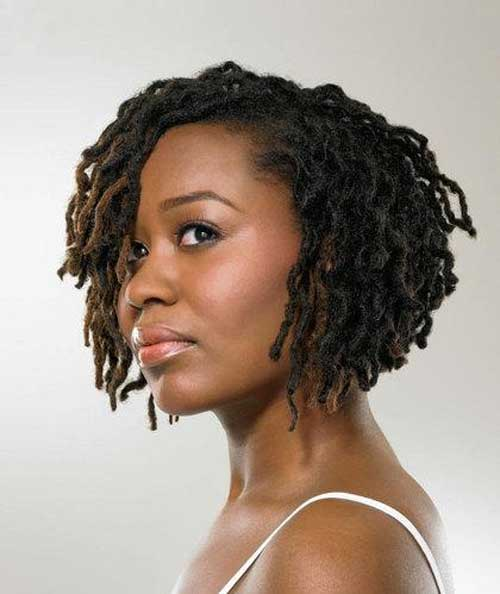Popular Short Haircut for Black Women
