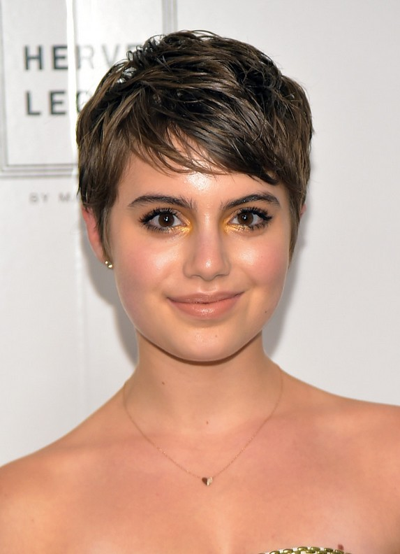 Sami Gayle Layered Short Pixie Cut for 2015