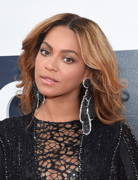 Beyonce Knowles Long Hairstyle for Wave Thick Hair