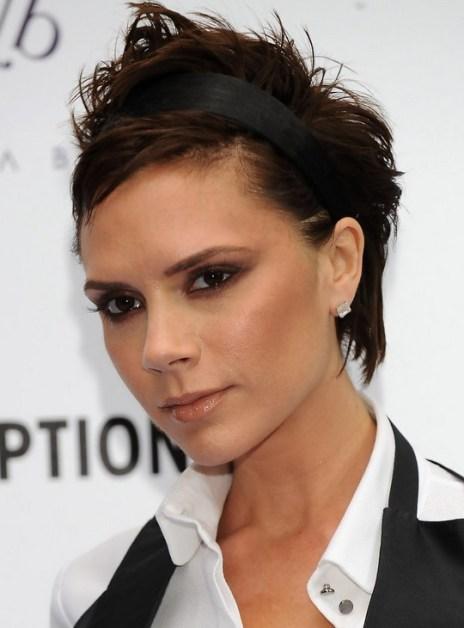 Victoria Beckham Short Pixie Cut for Women