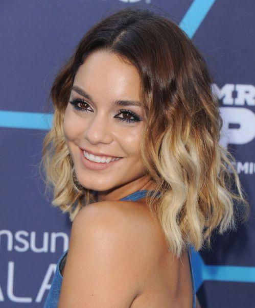 Vanessa Hudgens Short Ombre Hair for Summer