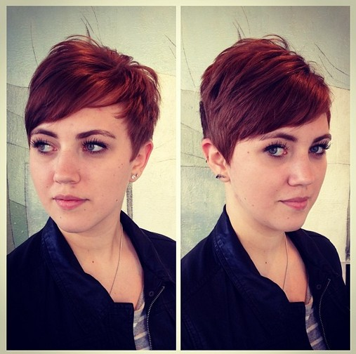 Gamine Pixie for Redheads  Hairstyles Weekly