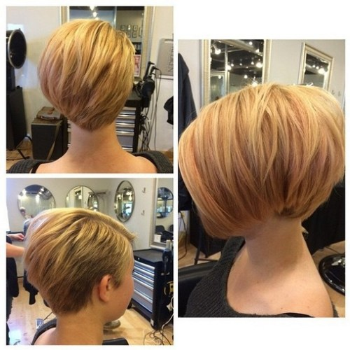 Layered Short Haircut for Thick Hair