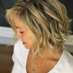 Popular soft wave bob hairstyle