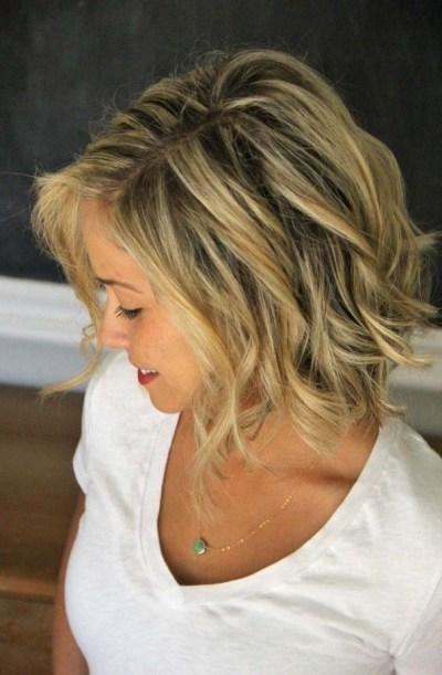 Popular soft wave bob hairstyle