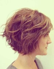 fabulous layered short haircut