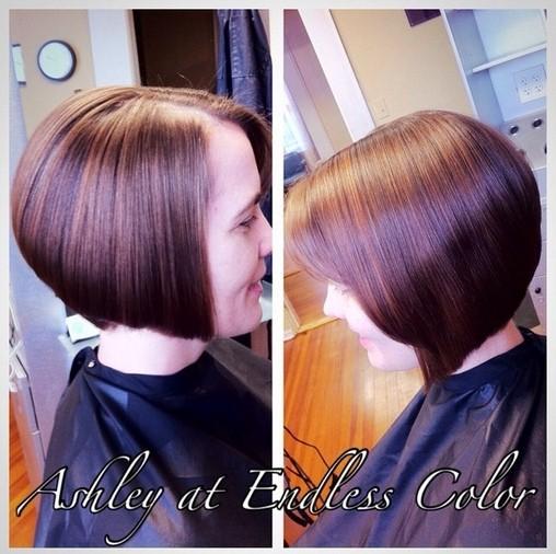 Sleek Chin Length A Line Bob Haircut For Women
