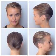 undercut short haircut women