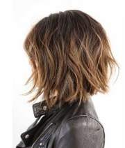 wavy bob hairstyles short