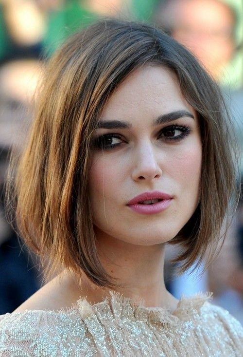 classic easy round bob cut for women