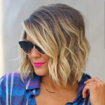 short blonde balayage