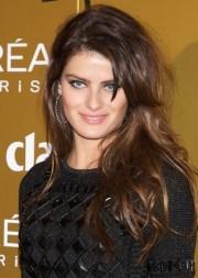 isabeli fontana layered long brunette