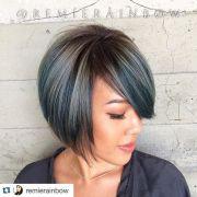 chic -line bob hairstyles