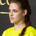 Kristen Stewart Long Braided Hairstyle