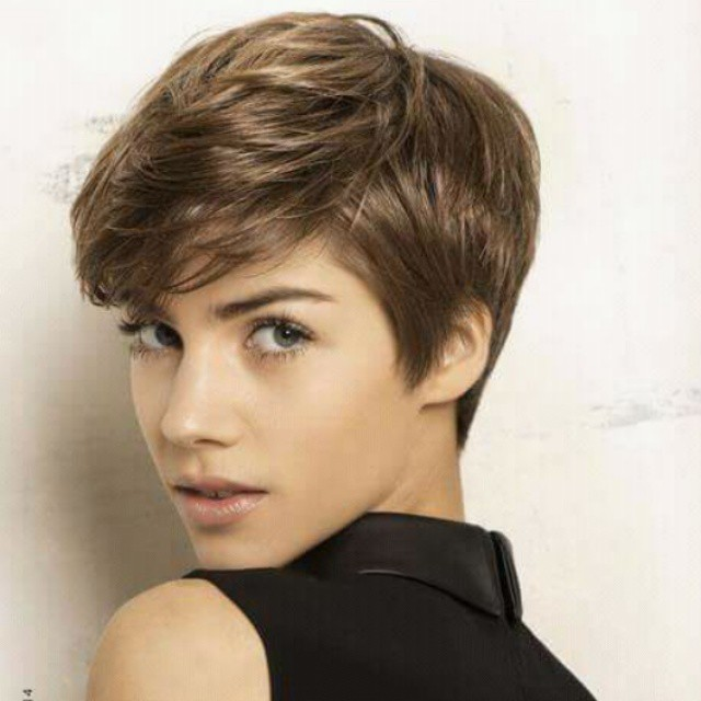 best short pixie cut with bangs