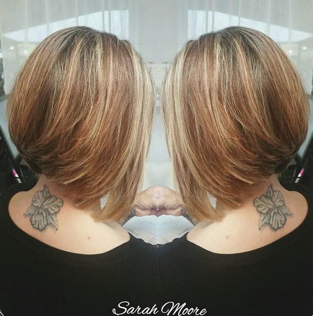 hair spiration - stacked bob haircut