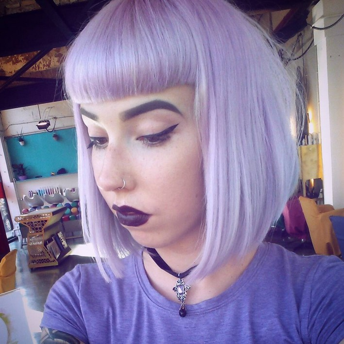 20 Gorgeous Pastel Purple Hairstyles For Short Long And Mid
