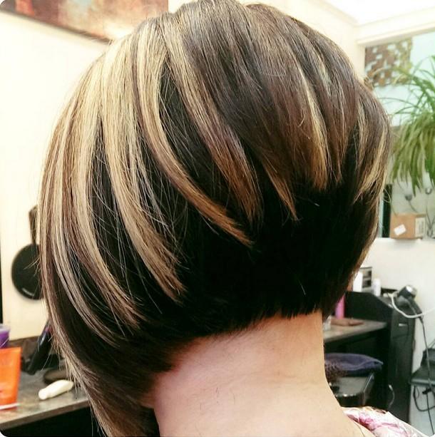 short stacked bob hair styles