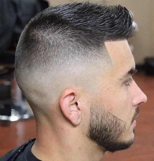 spiked short haircut for men - faux hawk