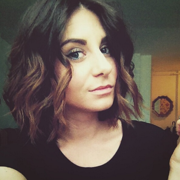 messy ombre bob hairstyle 2016