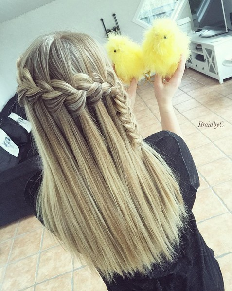 Amazing, Cute Braid Hairstyle - Straight Long Hair Ideas for Girls