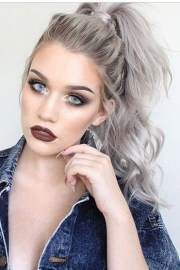 trendy gray hairstyles