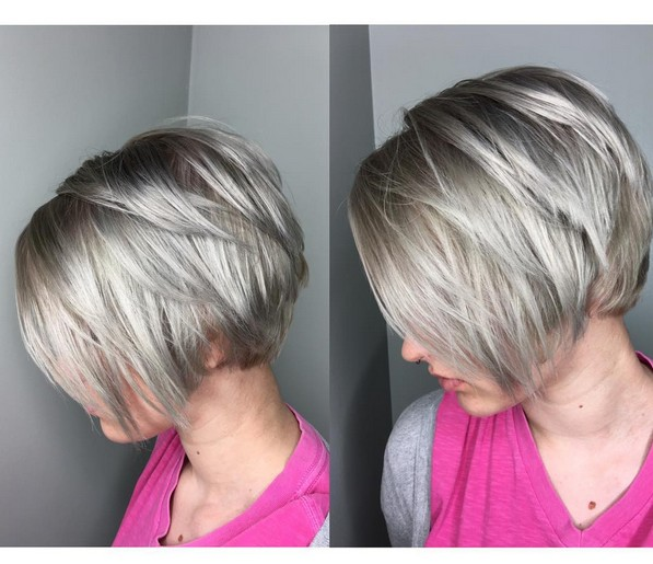 Layered Short Pixie Haircut