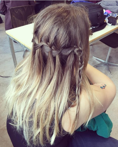 Ombre Hairstyle for Long Hair