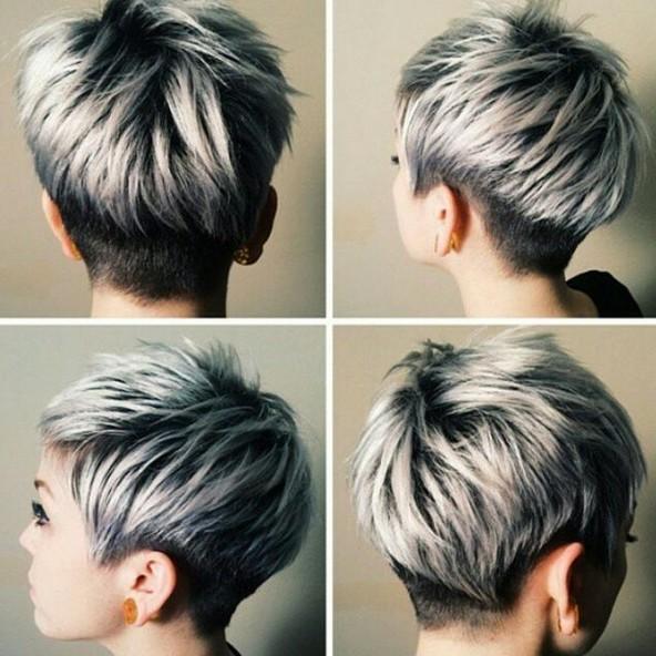Short, Layered Haircut for Thick Hair