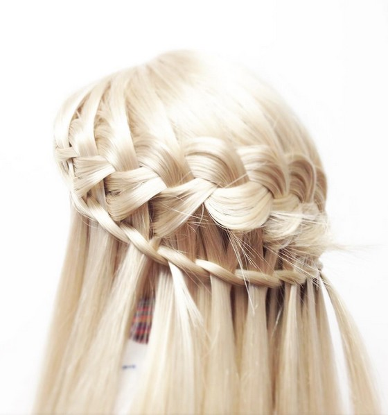 Waterfall Braids Designs