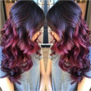red ombre hair ideas 2020